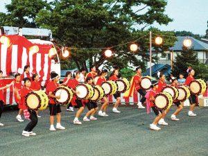 都南あけぼの荘 夏祭り